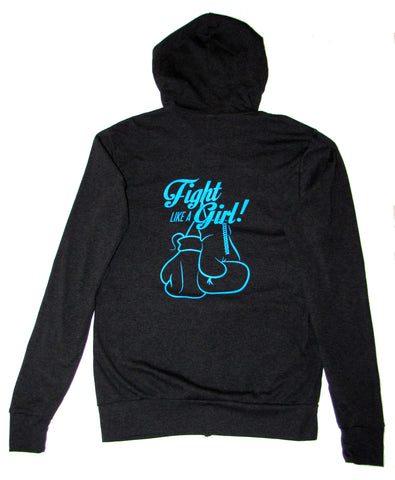 Fight Like a Girl// Zip Hoodie