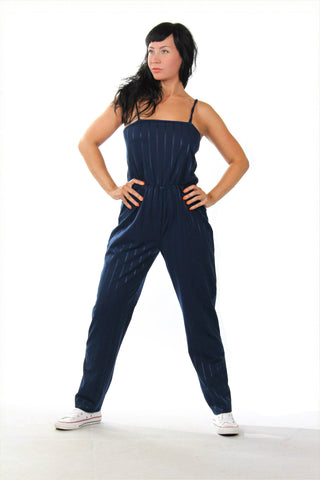 Beautiful blue vintage jumpsuit from the '80s
