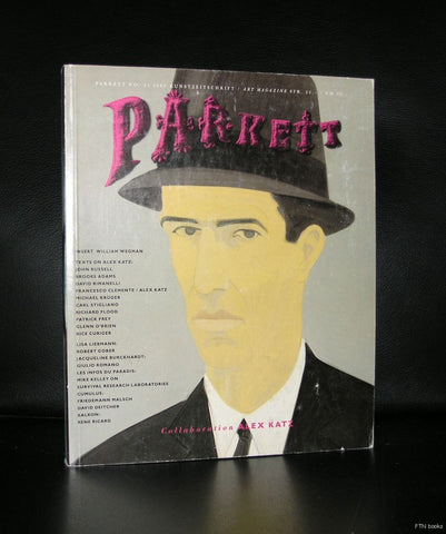 Parkett 21 # ALEX KATZ # 1989, nm