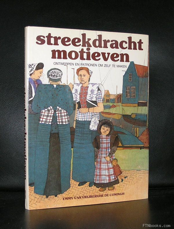Cross stitch, Holland # STREEKDRACHT MOTIEVEN# ao samplers ,DIY,1983,nm