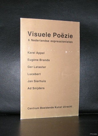 Karel Appel, Lucebert, Sierhuis a.o # VISUELE POEZIE# 1992, nm