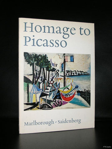 Marlborough- Saidenberg # HOMAGE TO PICASSO #1971, nm