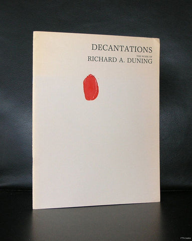 Richard A. Duning # DECANTATIONS # 1987, original oil on cover
