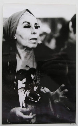 Suzy Embo , Paris # LOUISE NEVELSON# 1969, mint