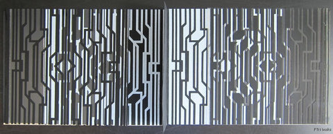 Galerie Denise Rene # VICTOR VASARELY /incl. art work # incl. invitation card, 1970, nm