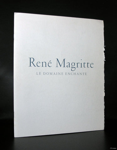 Gagosian Gallery # Rene MAGRITTE, Le domaine enchante # 1994, nm+