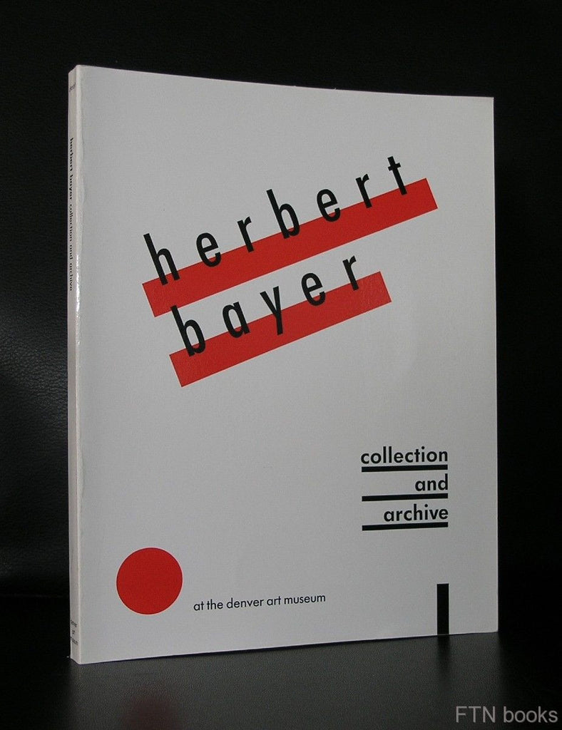 Denver Art Museum # HERBERT BAYER, Collection and Archive # 1988, nm+
