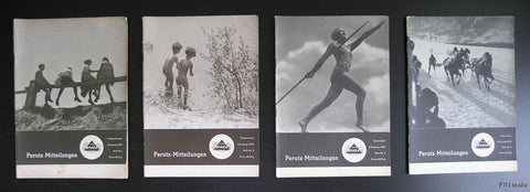 Photo magazines pre WWII # PERUTZ - MITTEILUNGEN # set of 4 from 1932