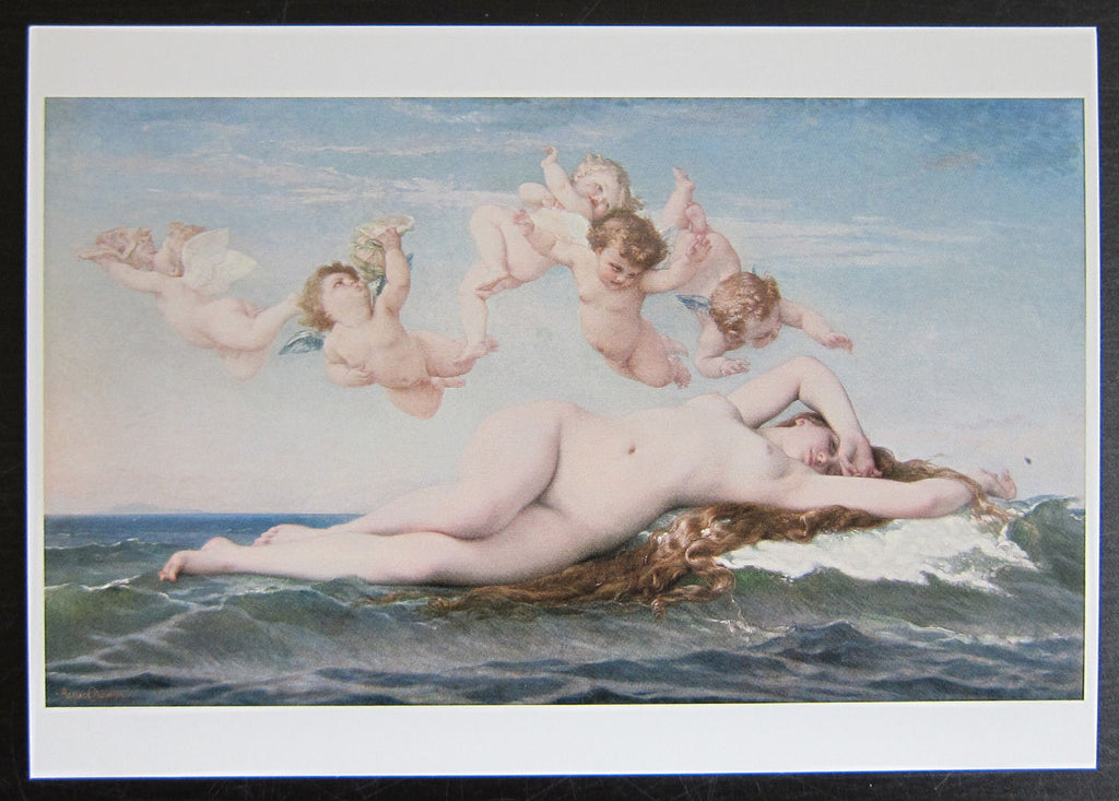 Alexandre Cabanel # BIRTH OF VENUS # postcard, 2004, MINT