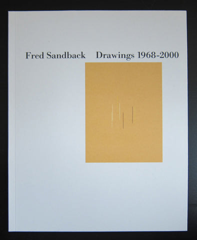 Fred Sandback # DRAWINGS 1968-2000 # 2005, Mint