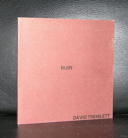 Art & Project # DAVID TREMLETT # Ruin , 1987, Mint