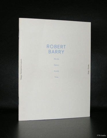 Robert Barry # WORDS, SPACE, SOUND, TIME#nm+, 1989