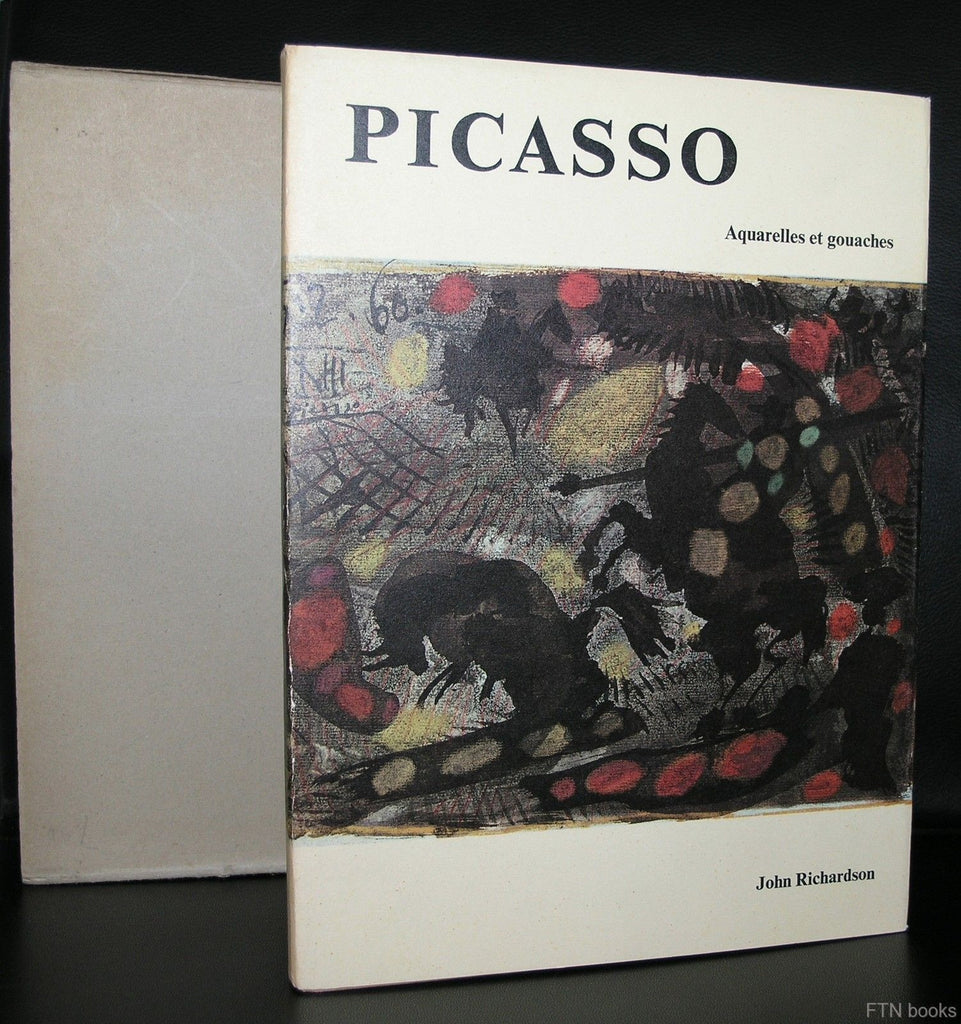 Edition Phoebus # PICASSO, Aquarelles et Gouaches # 1964, nm++ ,incl. slipcase
