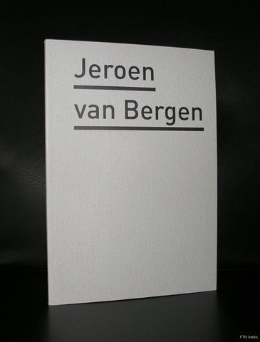 Bonnefanten Museum # JEROEN VAN BERGEN # 2011, edition of 100, mint