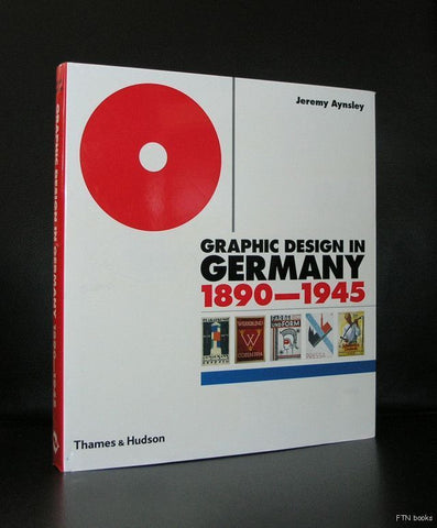 Aynsley# GRAPHIC DESIGN IN GERMANY 1890-1945#2000, nm+