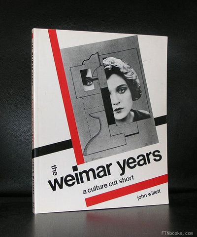 John Willett # the WEIMAR YEARS # Bauhaus, 1984, nm
