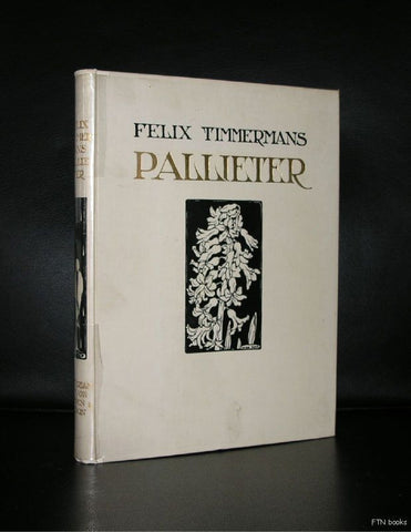 Anton Pieck / Felix Timmermans # PALLIETER # ca. 1950, nm--