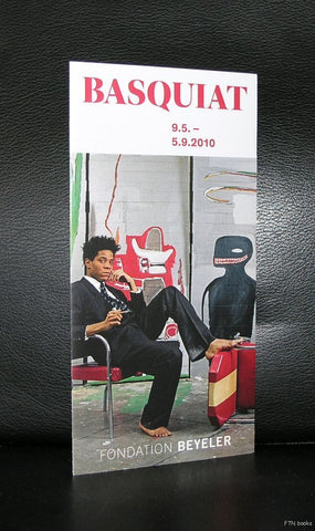 Fondation Beyeler # Jean-Michel BASQUIAT # folder ,2010, mint