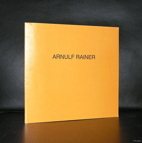 Heike Curtze # ARNULF RAINER # 1985, 1000 cps, nm+