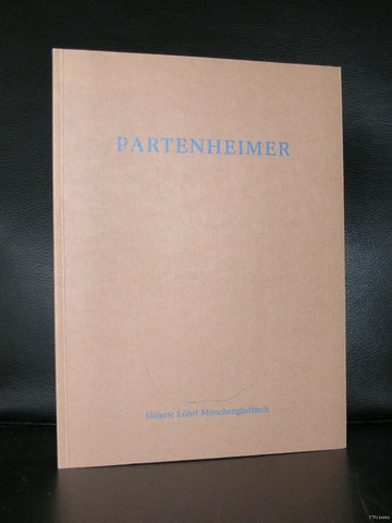 Galerie Lohrl # Jurgen PARTENHEIMER # original drawing on cover, 1988, mint-