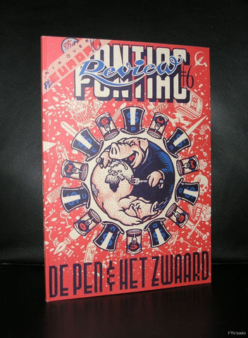 Peter Pontiac # REVIEW no. 6, de pen en het zwaard#  1997, mint