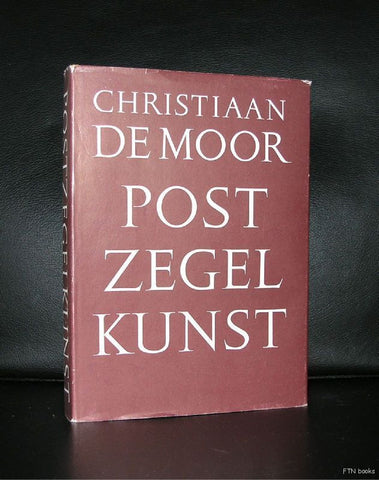 Christiaan de Moor, (Dutch stamp design) # POSTZEGELKUNST # 1960, nm+