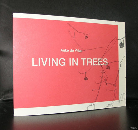 Auke de Vries # LIVING IN TREES# artist book, mint