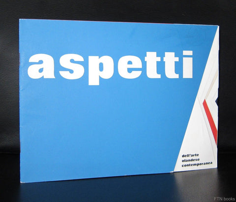 Jurriaan Schrofer# ASPETTI arte Olandese Contemporaneo #1966, nm