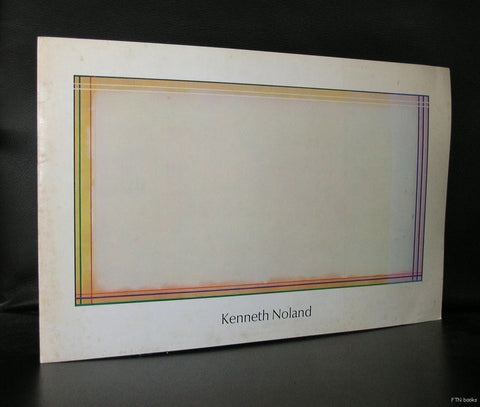 Andre Emmerich gallery # KENNETH NOLAND # 1973, nm