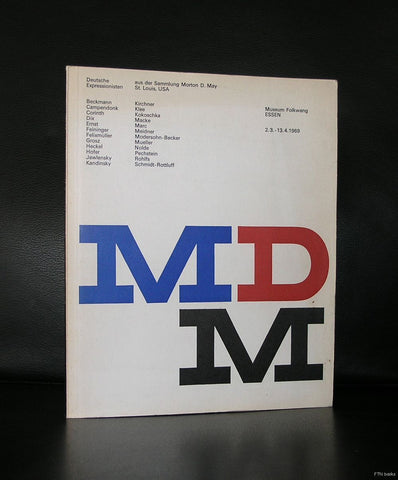 Museum Folkwang, Beckmann ao#MDM, Morton D. May collection#Heinz Beier,1969, nm-