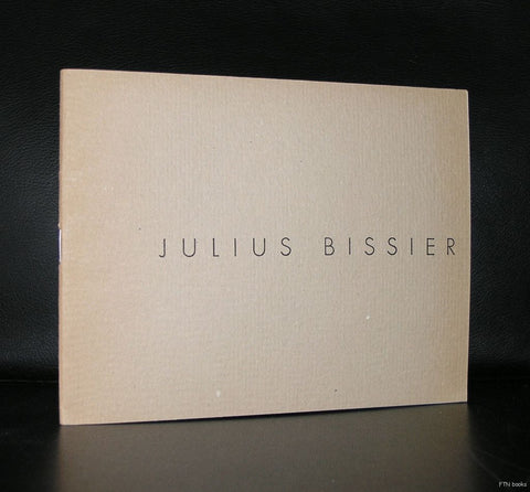 Gimpel Fils, London # JULIUS BISSIER # 1960, nm+