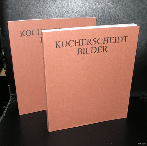 Kurt Kocherscheidt # BILDER # 1986, mint, 2 vol.