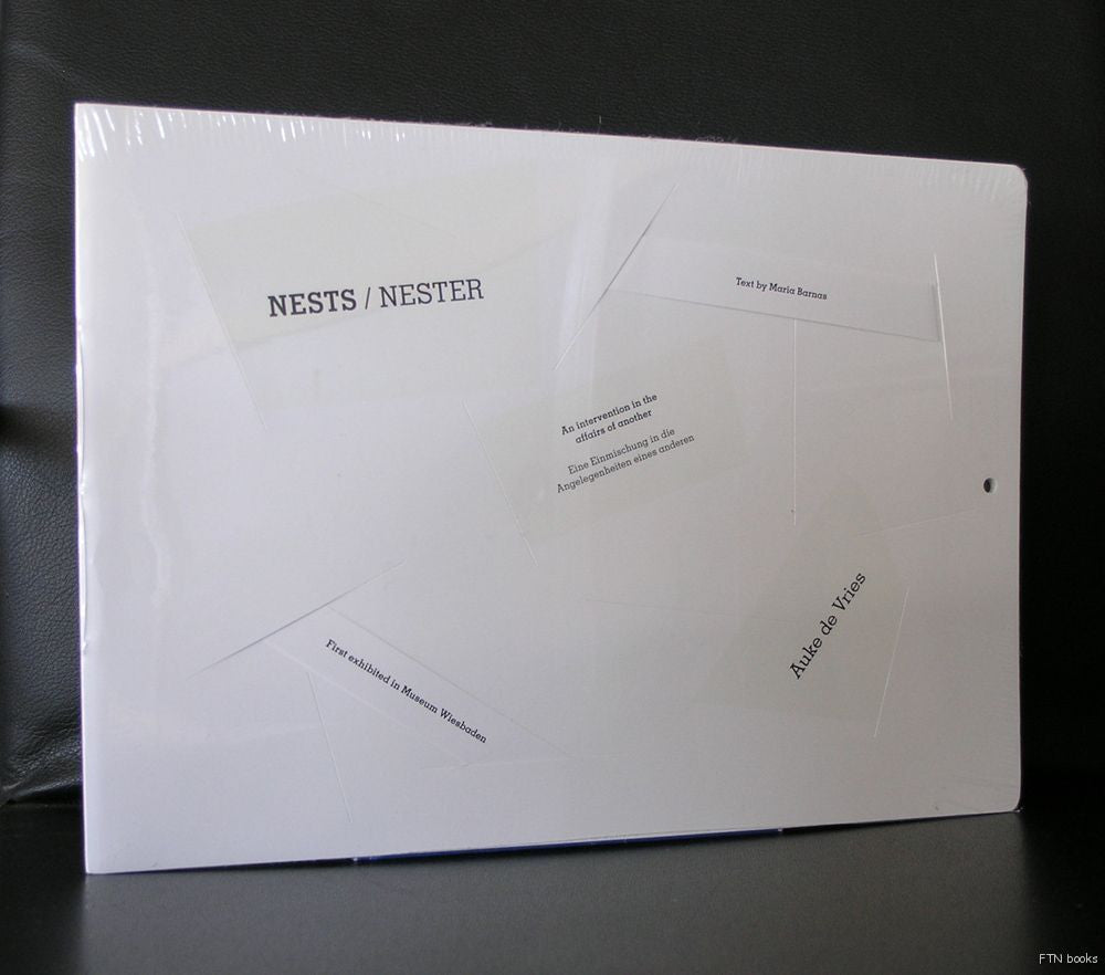 Auke de Vries # NESTS/ NESTER #  mint sealed