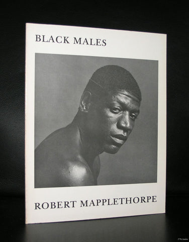 Robert Mapplethorpe # BLACK MALES # Galerie Jurka, 1980, nm