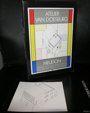 Theo van Doesburg # ATELIER MEUDON + book # kit, paper, 1985, nm++