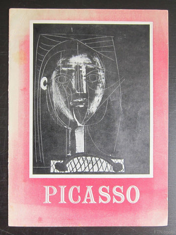 the Hanover Gallery # lithographs by Pablo PICASSO # 1949, vg++