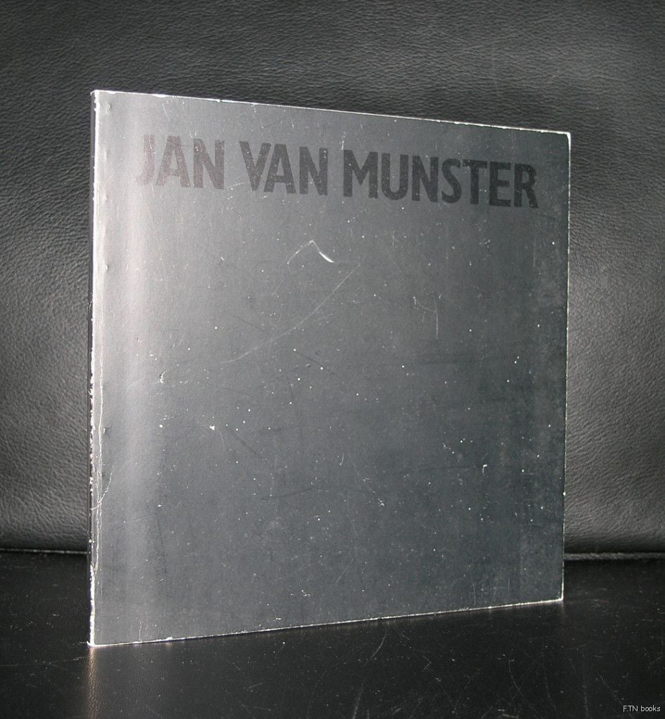 Erasmus stichting # JAN VAN MUNSTER # 1979, nm--