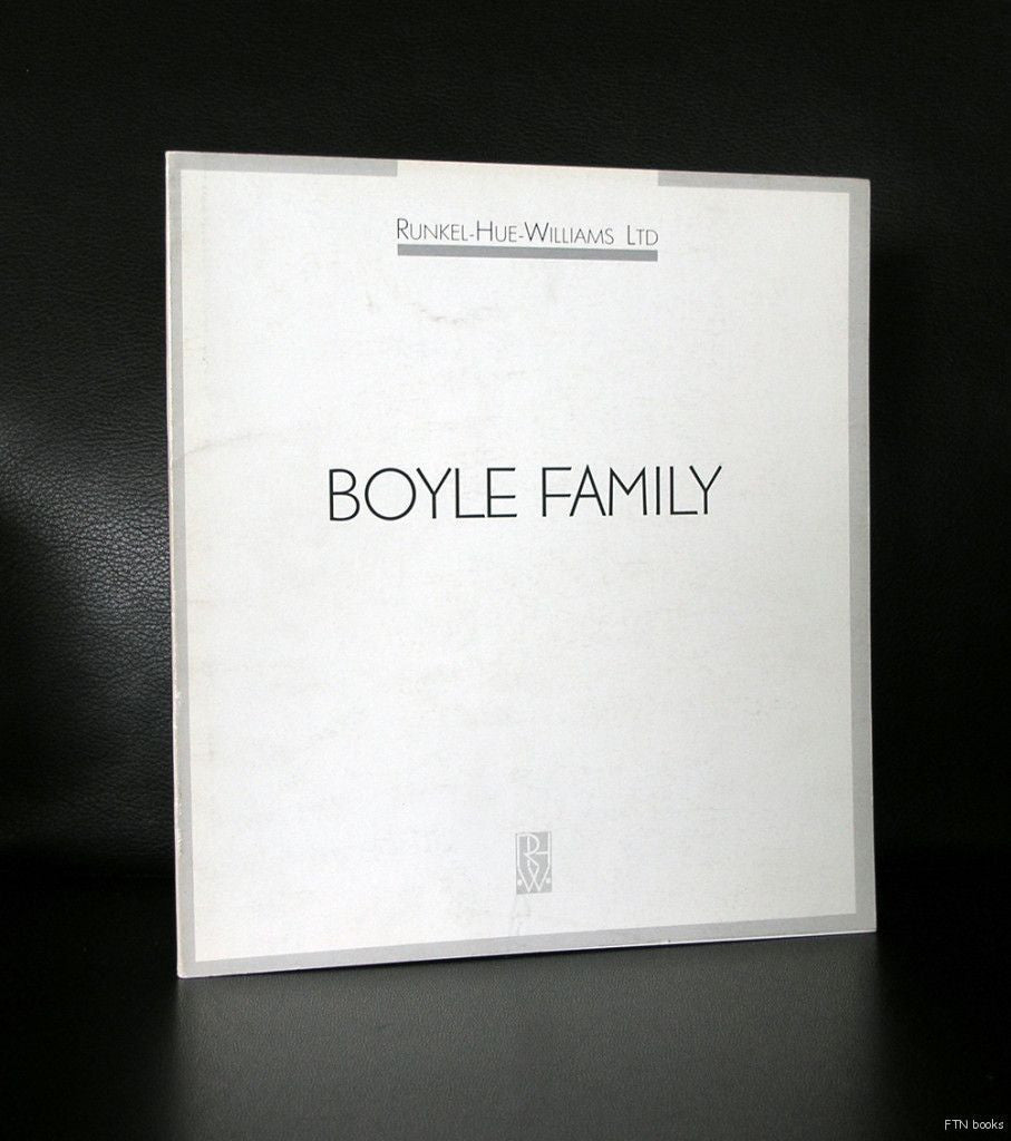Mark Boyle ,Runkel -Hue-Williams ltd # BOYLE FAMILY, Dockland series # 1991, nm