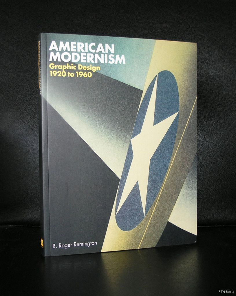 Graphic Design, Typography # AMERICAN MODERNISM 1920-1960 # 2003, mint