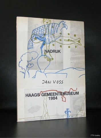Jan Voss # NADRUK # artist book,1984, 1000 cps.,nm+