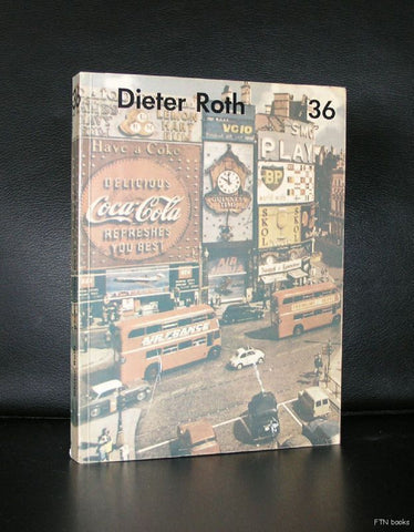 Dieter Roth , band 36 # 96 PICCADILLIES # 1977, nm+