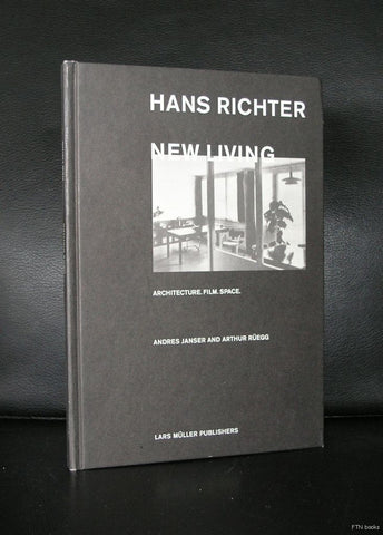Hans Richter # NEW LIVING # architecture, Film, Space, 2001, mint-