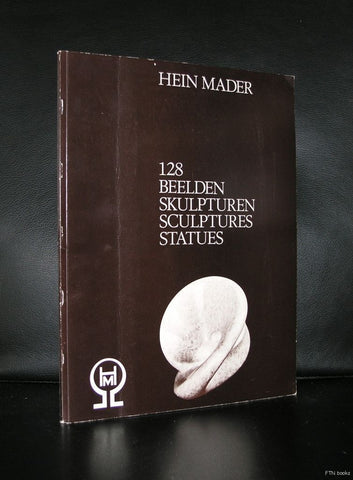 Hein Mader # 128 Beelden, sculptures# 1984, nm