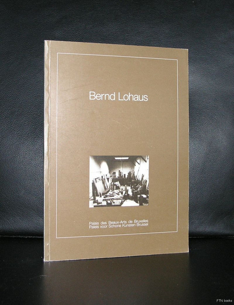 Beaux Arts Brussel# BERND LOHAUS# 1985, nm