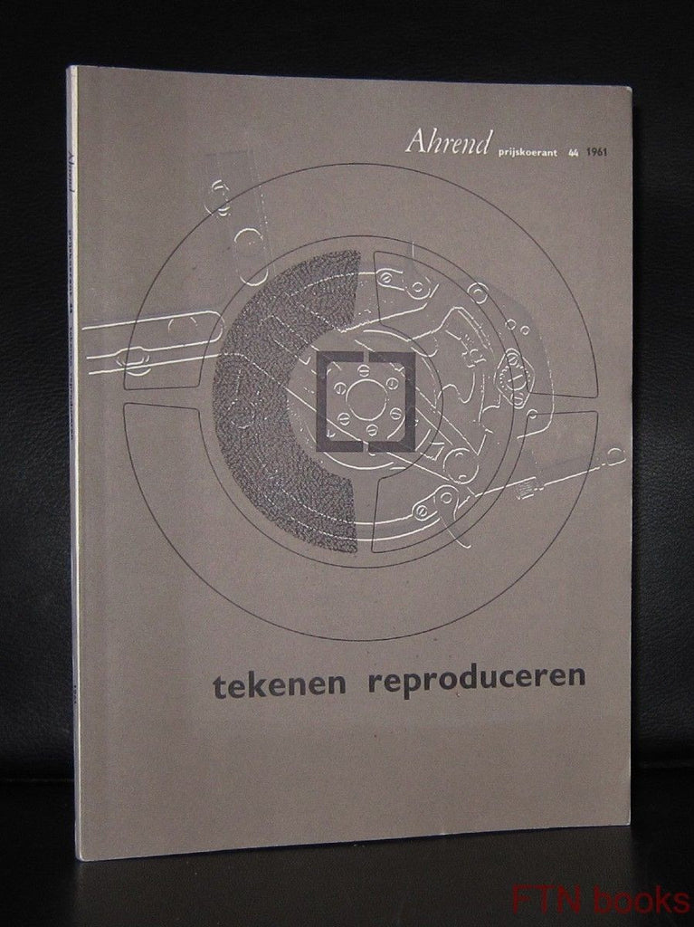 Ahrend , Friso Kramer( Revolt table) # PRIJSKOERANT 44 # . 1961, nm