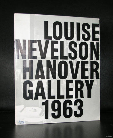 Hanover Gallery # LOUISE NEVELSON # 1963, nm- ( + inv. 2002)