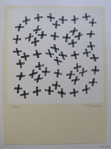 Jean Pierre Maury # COMPOSITION#1990,mint, signed numb.