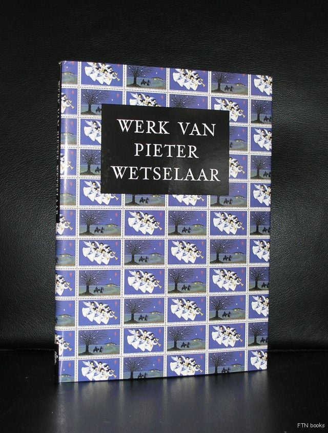 dutch design typo# PIETER WETSELAAR # 1988, mint
