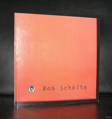 Galerie Paul Maenz # ROB SCHOLTE # signed, 1988, mint