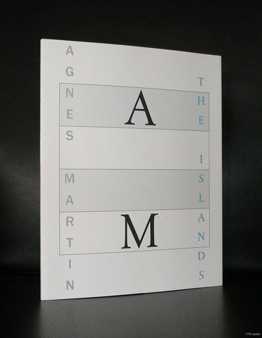 Agnes martin # THE ISLANDS # typography Nikkels, 2004, mint